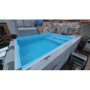Fóliování bazénů cena za...