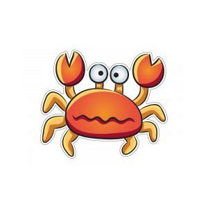 Samolepka Krab