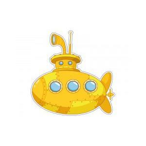 Samolepka Ponorka