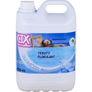 CTX-41 tekutý flokulant 5l